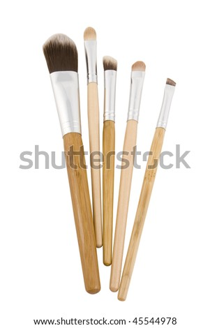 mary kay makeup brushes. stock photo : Makeup brushes