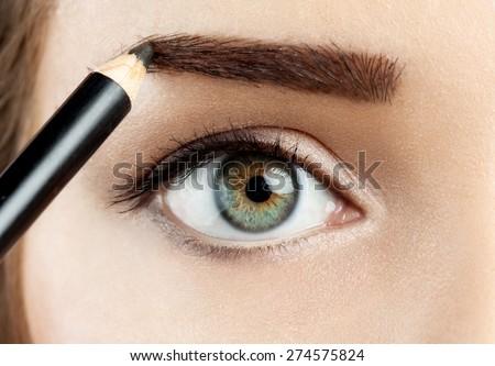 Makeup eyebrow pencil