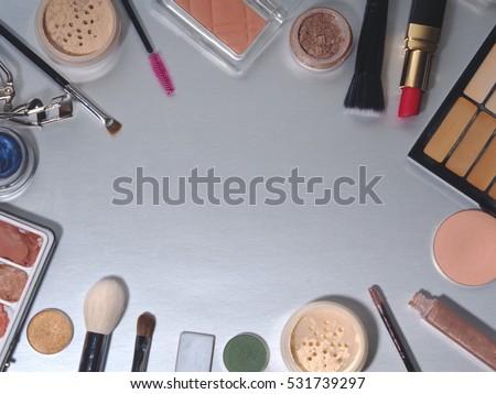 Makeup Flat lay  #531739297