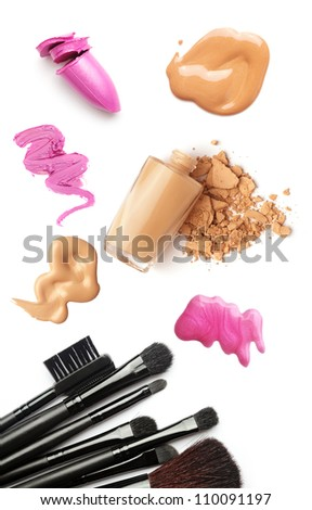 makeup isolated