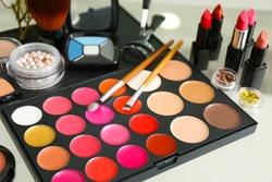 Makeup kit closeup