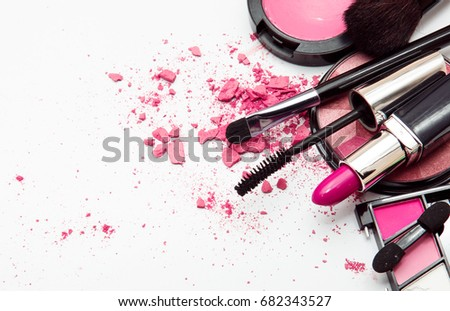 Makeup. Make-up Set