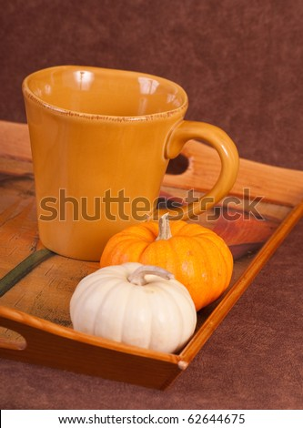 Making A Holiday Pumpkin Spice Coffee Drink