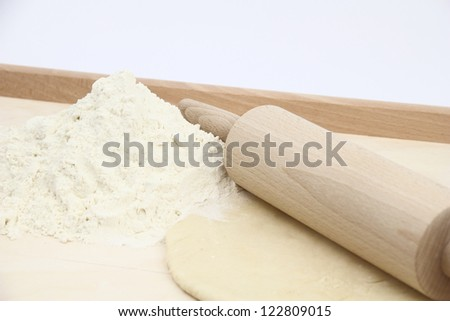 Making dumplings - stock photo