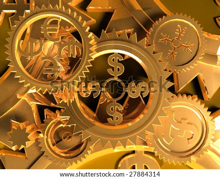 Making Money (gold backgrounds)
