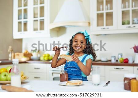 Making snack