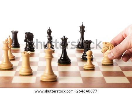 Making strategic decisions in business like playing the chess game