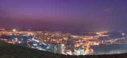 Makkah city view from Makkah clock tower