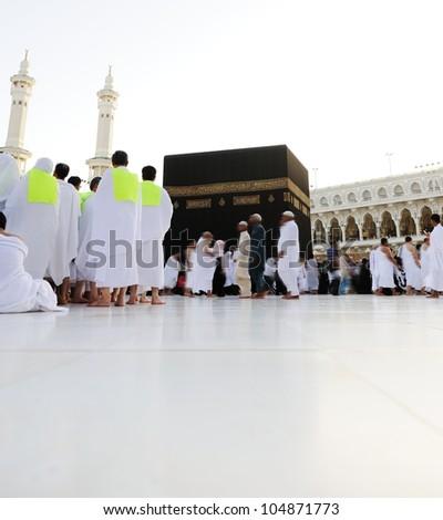 Makkah Kaaba Hajj Muslim people