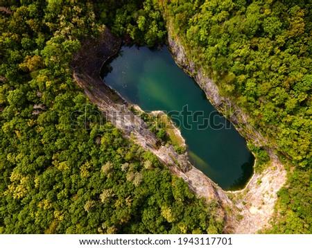 Malá Amerika quarry in Czech Republic Stok fotoğraf ©