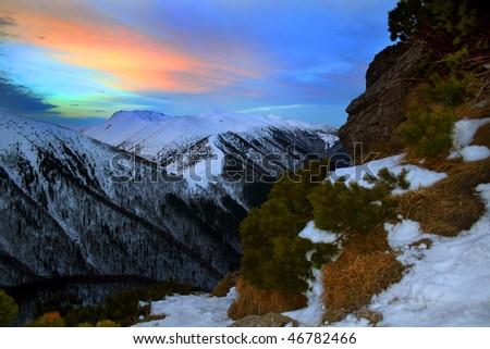Mala Fatra Slovakian Mountains