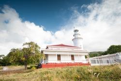 Malabrigo Lighthouse at Lobo, Batangas. Philippines.