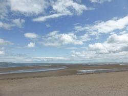 Malahide beach, County Dublin, Ireland