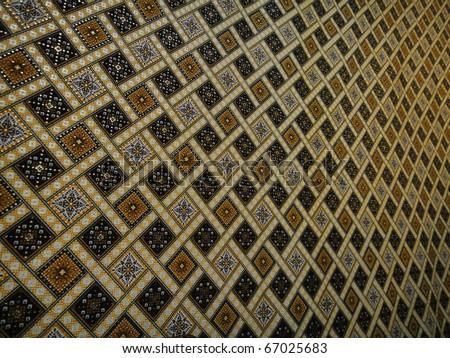 malaysia batik background in narrow view
