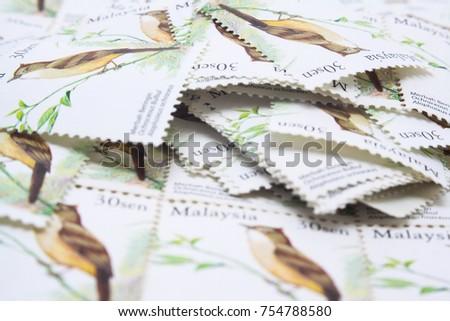 malaysia postage stamp #754788580