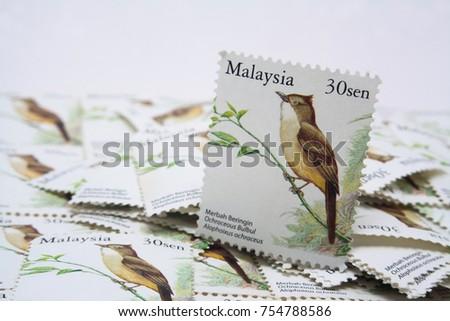 malaysia postage stamp #754788586