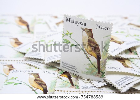 malaysia postage stamp #754788589