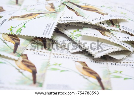 malaysia postage stamp #754788598