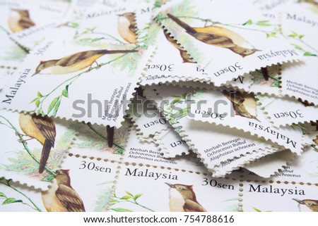 malaysia postage stamp #754788616