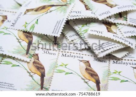 malaysia postage stamp #754788619