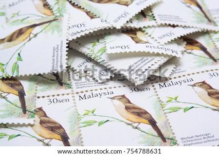 malaysia postage stamp #754788631