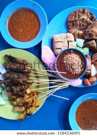 Malaysian all time favourite. Sate and Rojak the signature of Malaysian food.