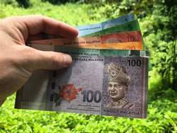 Malaysian Currency - Ringgit Notes