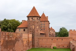 Malbork Castle, formerly Marienburg Castle, the seat of the Grand Master of the Teutonic Knights, Malbork, Poland