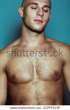 Man hairy chest male models that