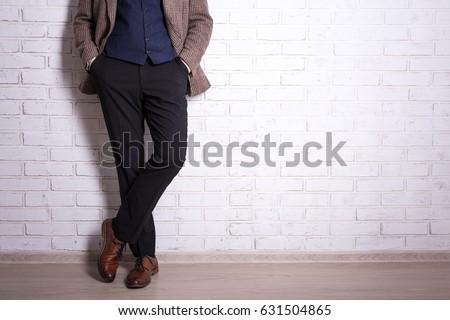 male fashion concept   close up ...