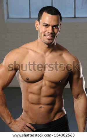 Male Fitness Model Bodybuilding.com