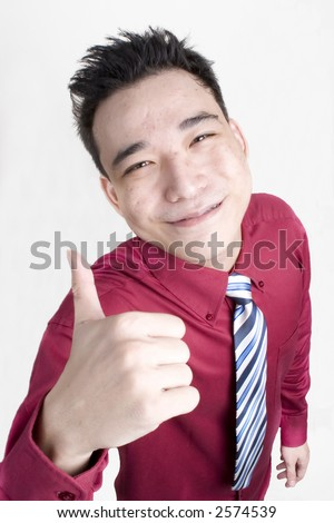 stock photo : Male in Business Attire Posing