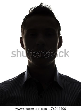 Male person silhouette #176044400