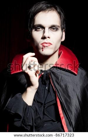 Male, powerful vampire