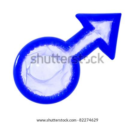 Male sign condom