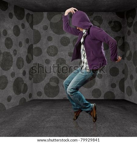 male street dancer, dance like michael jackson