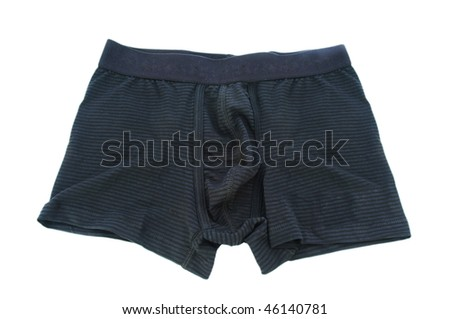 Male underwear isolated on the white #46140781