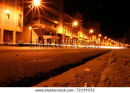Malecon at night - Havana - cuba