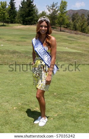 MALIBU, CA - JULY 10: Bianca Peters at the 2010 Women In Film Annual Golf Tournament at Malibu Country Club on July 10, 2010 Malibu, CA