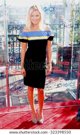 Malin Akerman at the People\'s Choice Awards Press Conference held at the London Hotel in West Hollywood, USA on November 9, 2010.
