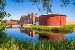 Malmöhus Castle (Slott) in Malmö, Skåne, Sweden.