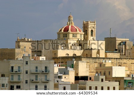 Malta La Valletta historic port UNESCO World Heritage site