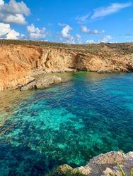 Malta summer at the blue lagoon.