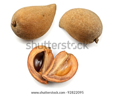 Mamey Sapote - stock photo