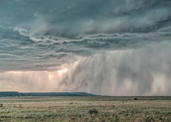 Mammatus Clouds on the Great Plains