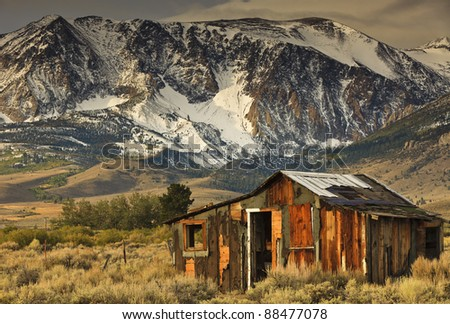 Mammoth Lakes - stock photo