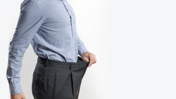 Man after diet