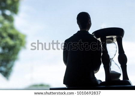 man and time - Shutterstock ID 1010692837