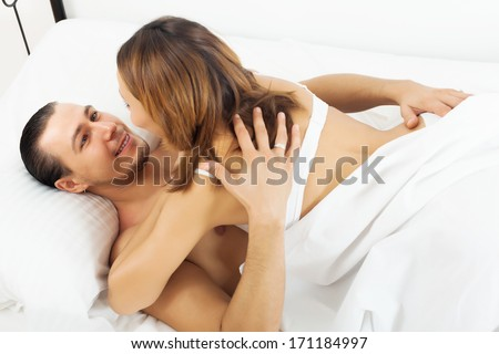 stock photo man and woman sex.