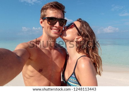 man and woman in 